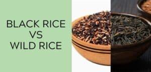 black rice vs wild rice