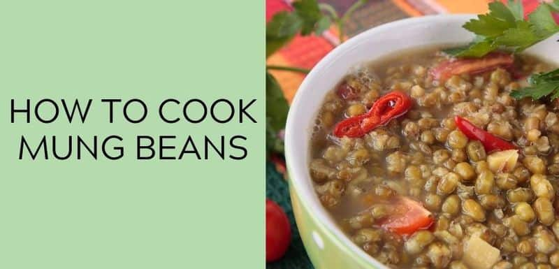 how to cook mung beans