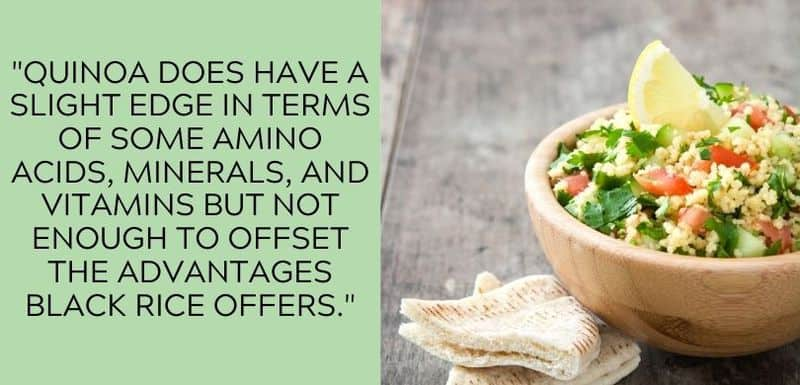 quinoa amino acids