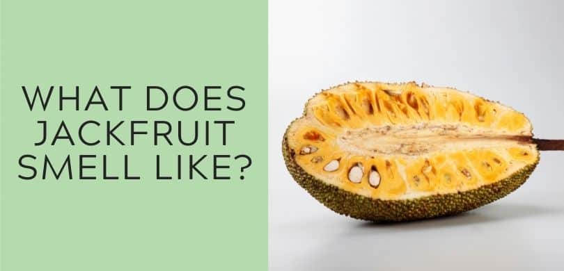 what does jackfruit smell like
