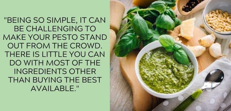 pesto simple ingredients