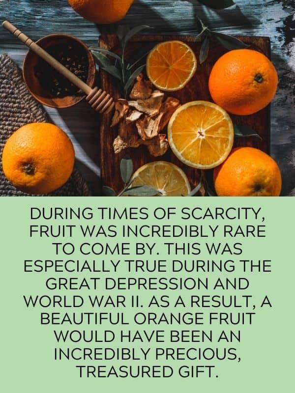 bright orange tangerines