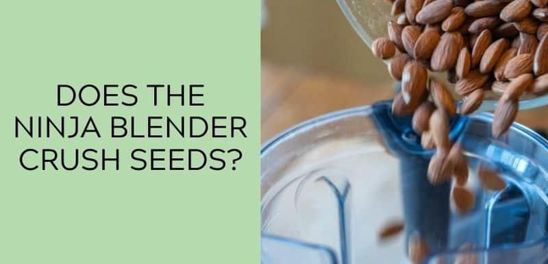 Does the Ninja Blender Crush Seeds?
