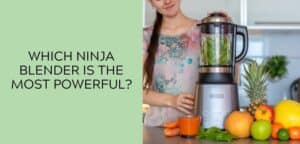 Which Ninja blender is the most powerful?